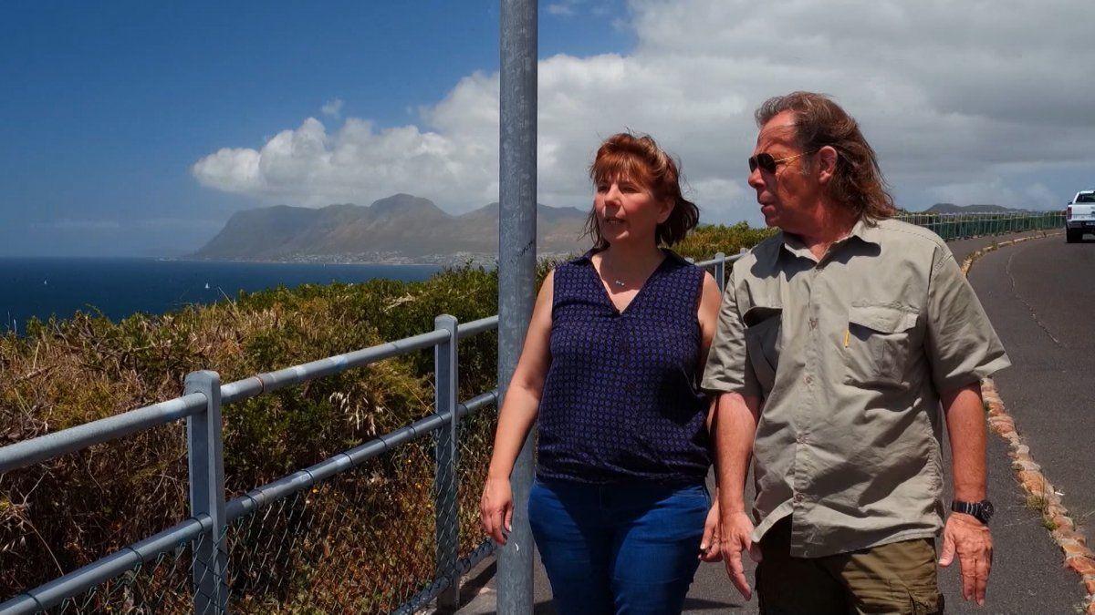 Tres compatriotas en Cape Town -Sudáfrica-