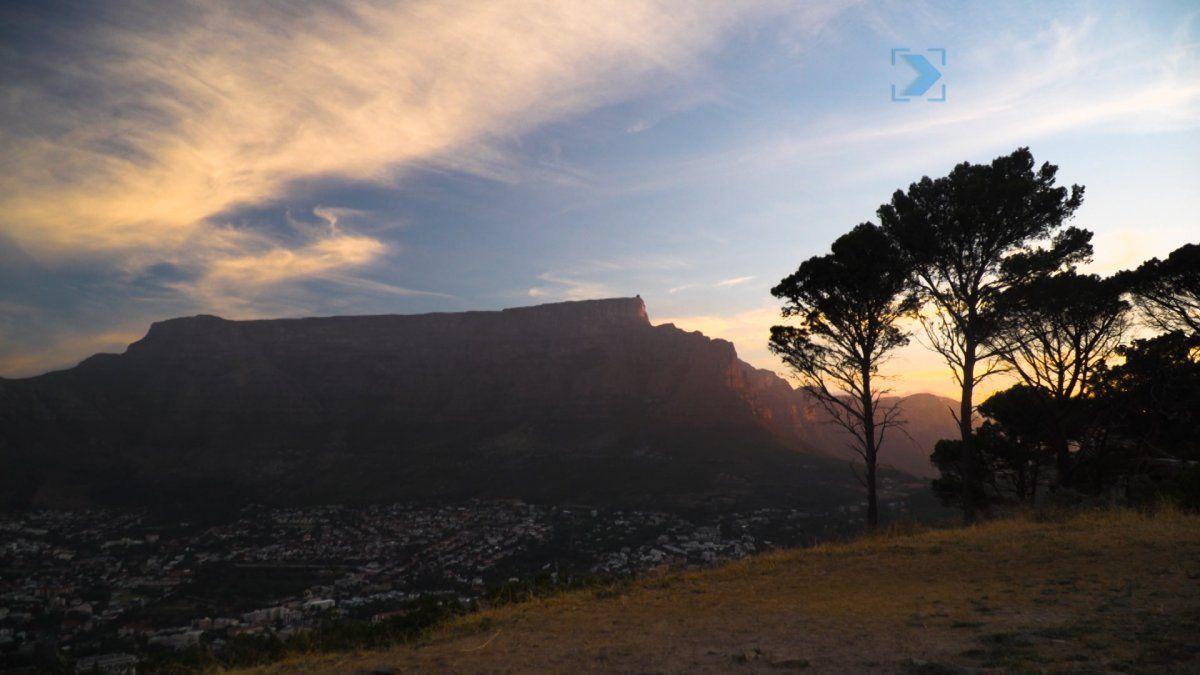 Dos compatriotas en Cape Town -Sudáfrica-