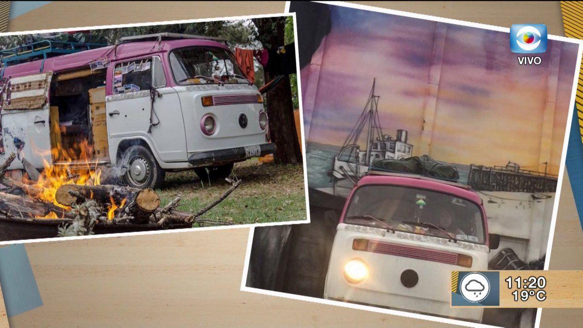 Un hermoso viaje en Kombi por Latinoamérica