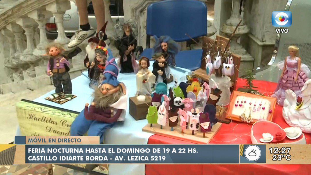 Feria Navide U00f1a Nocturna En El Castillo Idiarte Borda LA