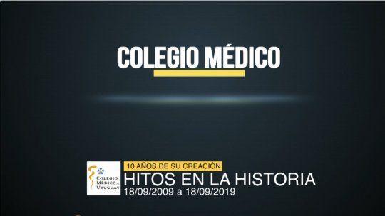 Colegio Médico de Uruguay cumple 10 años | ARRIBA GENTE