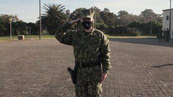 Martina Elizalde: Oficial de La Armada Nacional