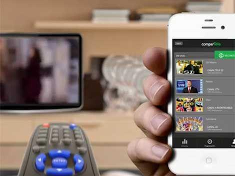 Aplicación para teléfonos permite interactuar sobre la TV