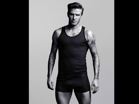 Beckham ahora abocado al diseño de ropa interior
